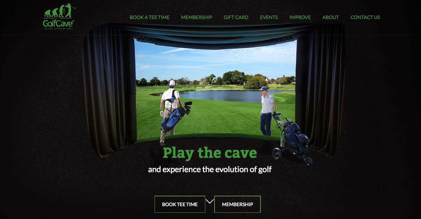 GolfCave – Indoor Golf Simulator in Clark & Eatontown NJ