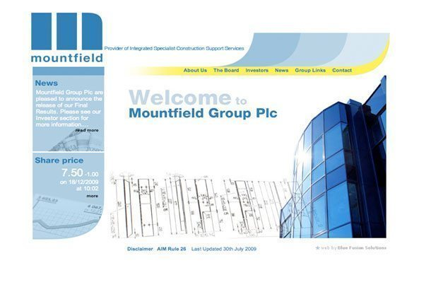 Mountfield Building Group London UK