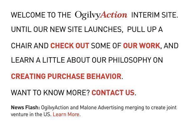 Ogilvy Action New York Interim site