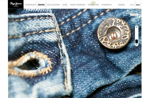 Pepe Jeans London global website